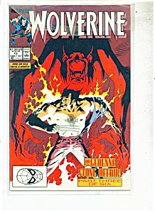 Wolverine Comics - # 13 Early October 1989