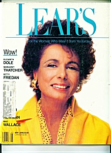 Lear's Magazine - May/june 1988