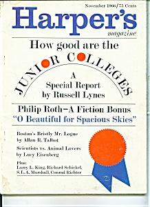 Harper's Magazine- November 1966 (Image1)