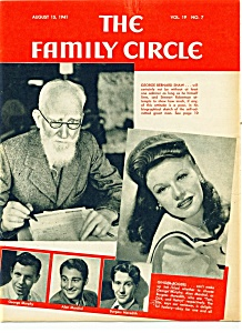 The Family Circle Magazine- August 15, 1941