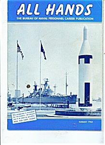 US Navy - All Hands magazine - August 1963 (Image1)
