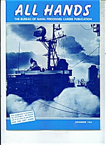 US Navy -   All Hands magazine- November 1963 (Image1)