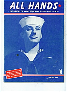 Us Navy - All Hands Magazine - February 1964