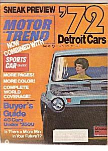 Motor Trend magazine- July 1971 (Image1)
