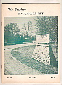 The Brethren Evangelist -  June 2, 1973 (Image1)