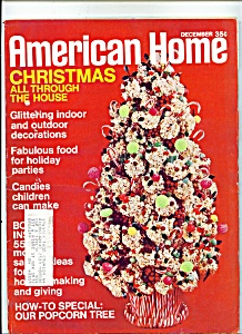 American Home Magazine - December 1970