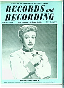 Records and Recording magazine - November 1960 (Image1)