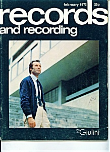 Records and recording magazine - February 1973 (Image1)