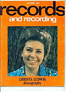 Records and REcording magazine- June 1974 (Image1)