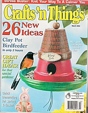 Crafts'n things magazine - March 2003 (Image1)