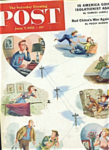 The Saturday Evening Post magazine - June 7, 1952 (Image1)