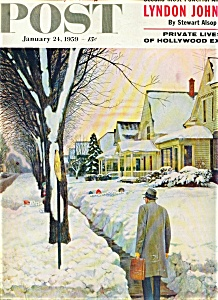 The Saturday Evening Post magazine- January 24, 1959 (Image1)
