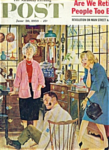 The Saturday Evening Post Magazine-june 20, 1959