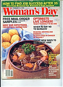 Woman's Day Magazine - Feb. 11, 1986 (Image1)