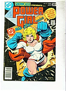POWER GIRL comic # 97 Feb. 1978   DC comics (Image1)