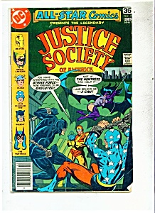 JUSTICE SOCIETY OF AMERICA  comic - # 7  Feb . 1978 (Image1)