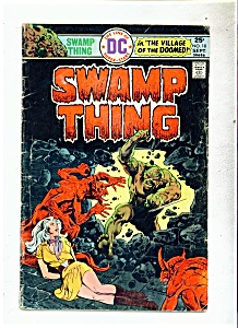 SWAMP THING COMIC - DC comics - # 18 - Sept. 1975 (Image1)