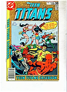 THE TEEN TITANS Comic book # 53  Feb. 1978 (Image1)