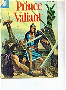 Prince Valiant comic - Dell.No. 650  Copyright 1955 (Image1)