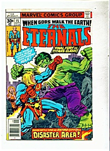 The Eternals comic - # 15  Sept. 1977 (Image1)