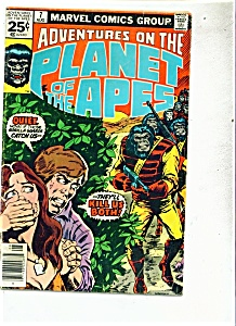 Adventures On The Plant Of The Apes. - # 7 Aug. 1976