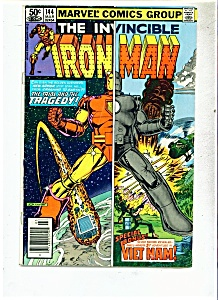 The Invincible IronMan  Comics - # 144 - March 1981 (Image1)