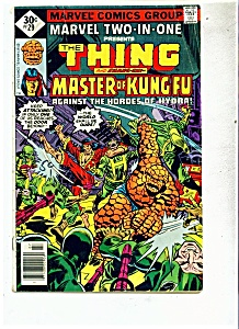 The Thing and Shanc-chi comic - # 29 July 1977 (Image1)