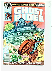 Ghost Rider Comic - # 33 December 1978