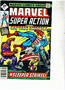 Super Action starring Captain America - # 3 Sept. 1977 (Image1)