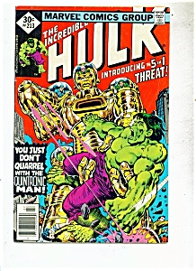 The Incredible Hulk comic - # 213   July 1977 (Image1)