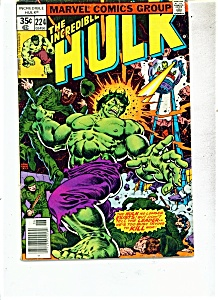 The Incredible Hulk comic - # 224   June 1978 (Image1)