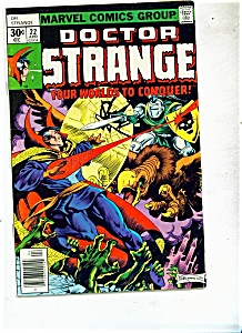 Doctor Strange comics - # 22 April 1977 (Image1)