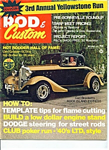 Rod & Custom magazine - September 1972 (Image1)