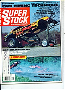 Super stock & drag illustrated magazine - March 1979 (Image1)