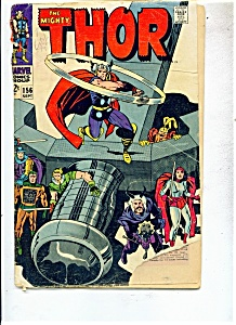The Mighty Thor comic - # 156   September. 1968 (Image1)