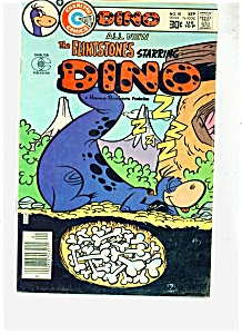 The Flintstones Starring Dino Comic - # 18 Sept. 76
