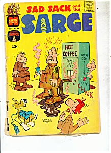 Sad Sack And The Sarge - # 64 October 1967
