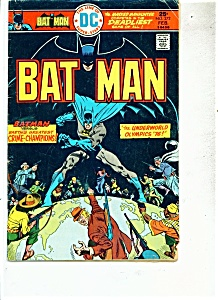 BatMan comics -  #272  February 1976 (Image1)
