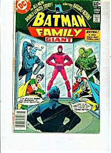 Batman Family Giant Comic - # 16 July 1976