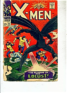 X-Men comic -  # 24  September 1966 (Image1)