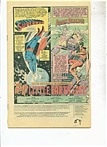 Superman And Adam Strange Comic - # 3 Nov. 1978