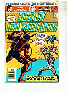 Superboy Legion Of Super Heroes Comic - # 218 July 1976