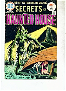 Secrets of Haunted House comic - # 1 May 1975 (Image1)