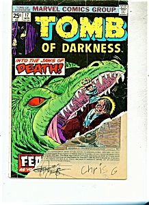Tomb of Darkness comics - # 17  Nove. 1975 (Image1)