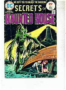 Secrets of Haunted House - # 1  May 1975 (Image1)