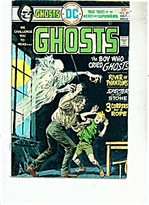 Ghosts comics -  # 43   October 1975 (Image1)