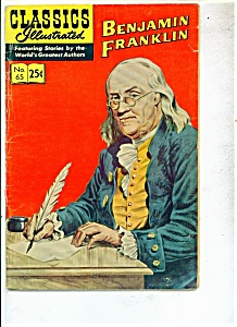 Benjamin Franklin - # 65 -autumn 1969