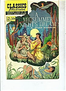 A Midsummer Night's Dream By Wm.shakespeare