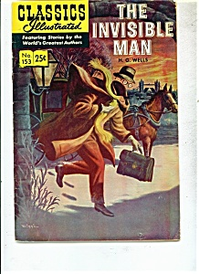 The Invisible Man By H.g. Wells - # 153 - Spring 1971