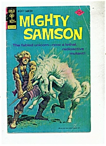 Mighty Samson comic -  # 29  September 1975 (Image1)